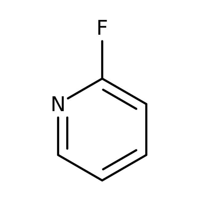 2-Fluoropyridine, 98%, ACROS Organics™ 5mL; Glass bottle 2-Fluoropyridine, 98%, ACROS Organics™