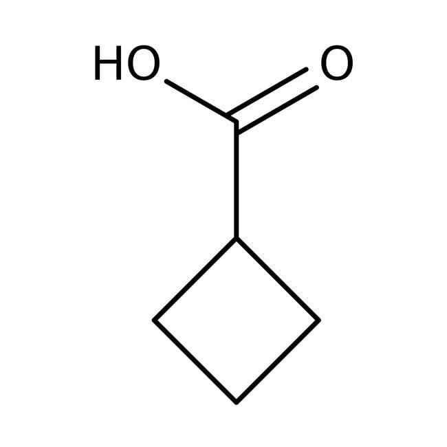 Cyclobutanecarboxylic acid, 98%, ACROS Organics™ 100g; Glass bottle Cyclobutanecarboxylic acid, 98%, ACROS Organics™