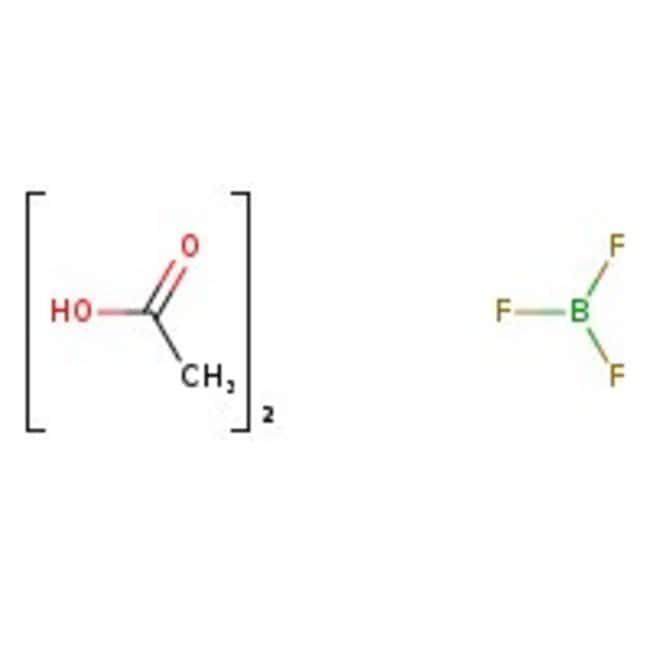 Boron trifluoride - acetic acid complex, ca. 33% BF<sub>3</sub>, ACROS Organics&trade;