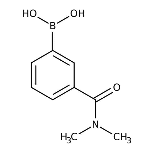 Alfa Aesar™3-(Dimethylcarbamoyl)benzeneboronic acid, 96% 250mg Alfa Aesar™3-(Dimethylcarbamoyl)benzeneboronic acid, 96%