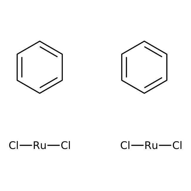 Benzeneruthenium(II) chloride, dimer, 97%, ACROS Organics™