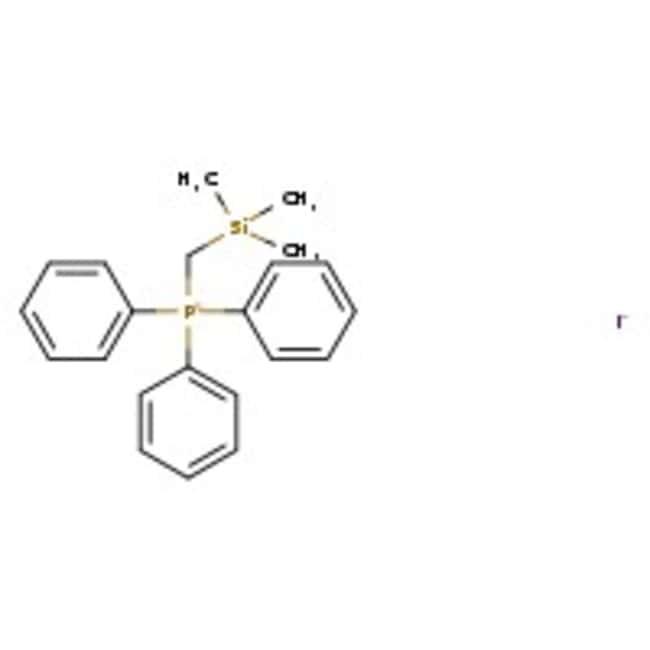 Alfa Aesar™Iodure de triphénylphosphonium (triméthylsilylméthyl), 98 % 5g Alfa Aesar™Iodure de triphénylphosphonium (triméthylsilylméthyl), 98 %