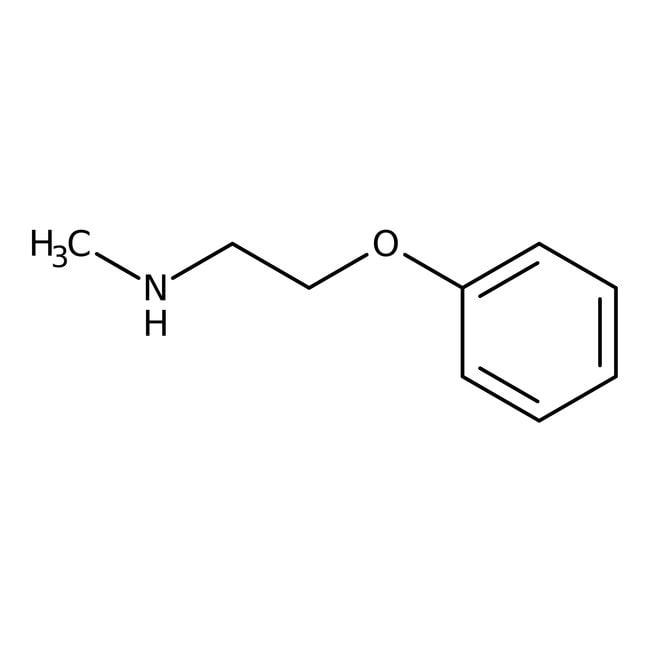 Alfa Aesar™N-Methyl-2-phenoxyethylamine, 98%: Secondary amines Amines