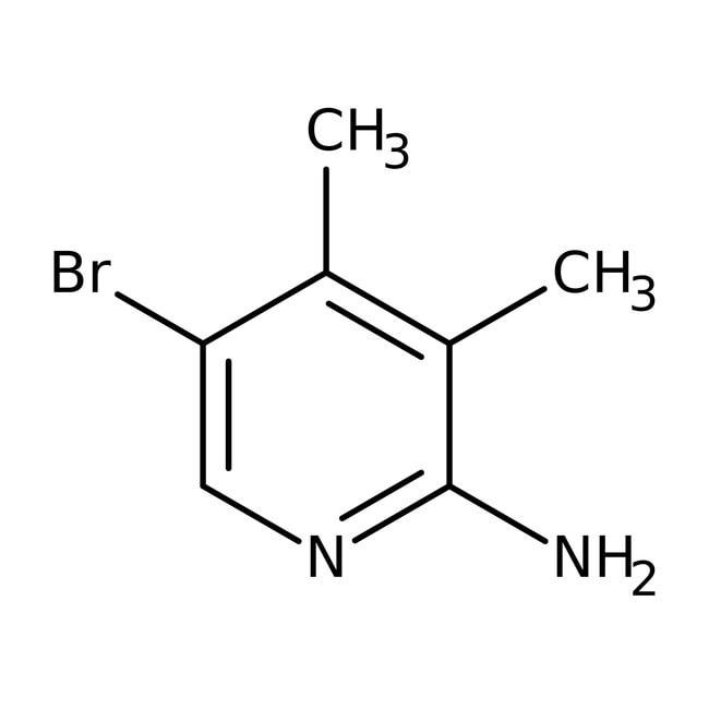 Alfa Aesar™2-Amino-5-bromo-3,4-dimethylpyridine, 97% 1g Alfa Aesar™2-Amino-5-bromo-3,4-dimethylpyridine, 97%