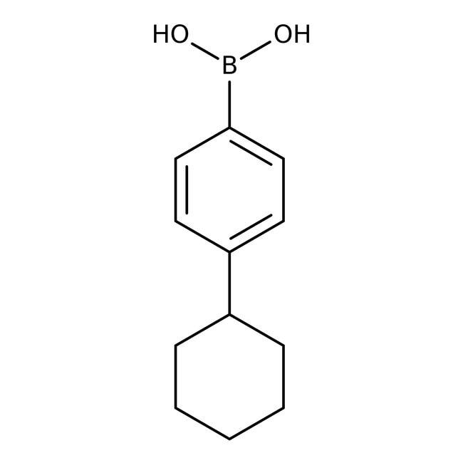 Alfa Aesar™4-Cyclohexylbenzeneboronic acid, 98% 1g Alfa Aesar™4-Cyclohexylbenzeneboronic acid, 98%