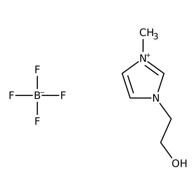 1-(2-Hydroxyethyl)-3-methylimidazolium Tetrafluoroborate 98.0+%, TCI America™
