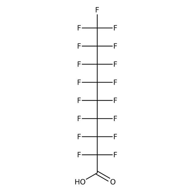 Alfa Aesar™Perfluorononanoic acid, 97% 5g Alfa Aesar™Perfluorononanoic acid, 97%