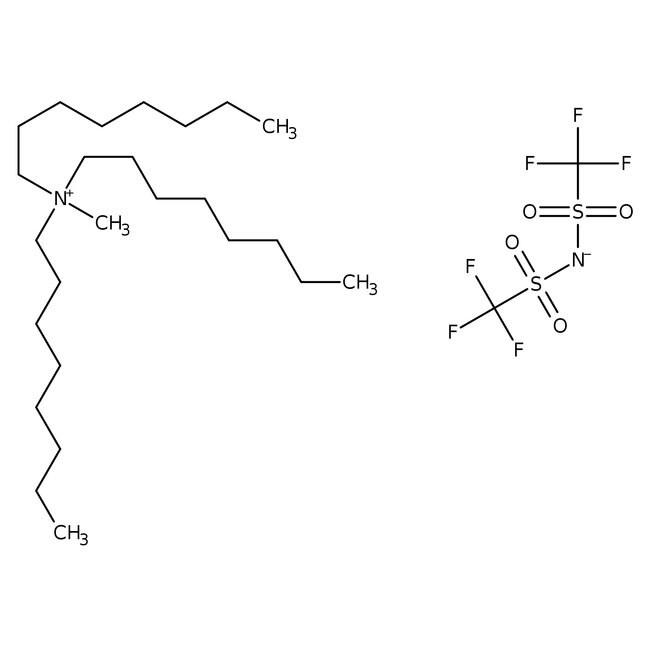 Methyltri-n-octylammonium Bis(trifluoromethanesulfonyl)imide 98.0 %, TCI America