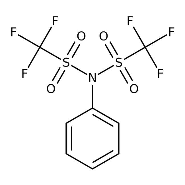 N-Phenylbis(trifluoromethanesulfonimide), 97%, ACROS Organics™