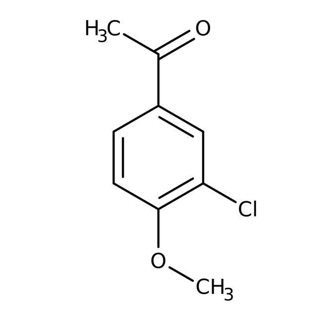 Alfa Aesar™3'-Chloro-4'-methoxyacetophenone, 96% 1g Alfa Aesar™3'-Chloro-4'-methoxyacetophenone, 96%