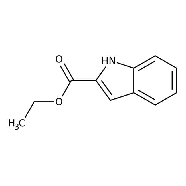 Ethyl indole-2-carboxylate, 97%, ACROS Organics™
