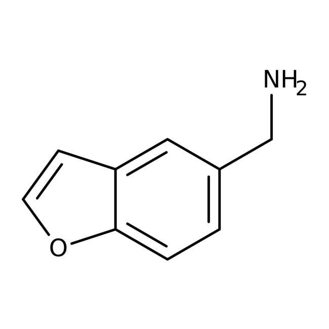 1-Benzofuran-5-ylmethylamine, 97%, Maybridge™