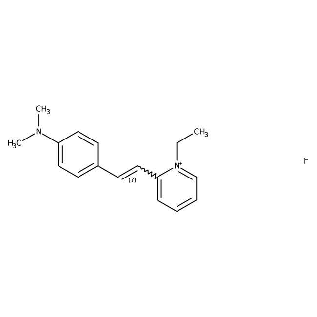 2-[4-(Dimethylamino)styryl]-1-ethylpyridinium iodide, ≥99%, Alfa Aesar™