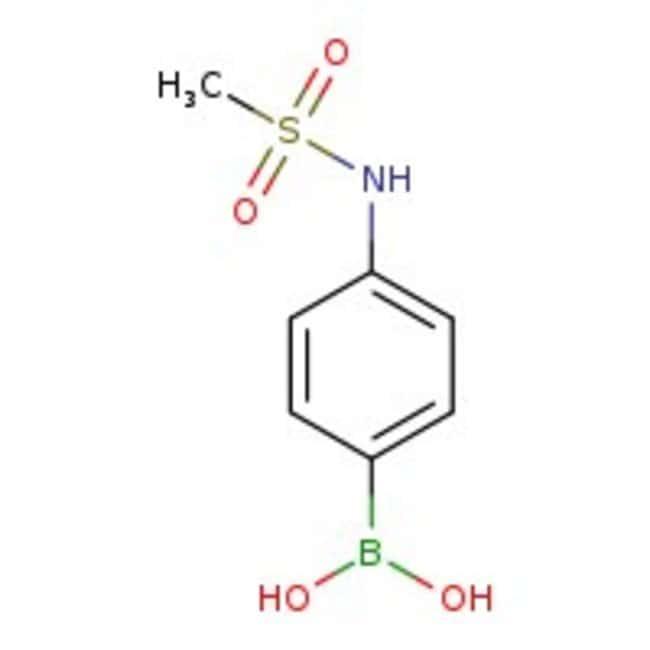 4-(Methanesulfonamido)phenylboronic acid, 97%, ACROS Organics™