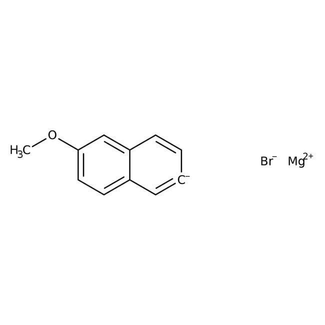 6-Methoxy-2-naphthylmagnesium bromide, 0.5M solution in THF, AcroSeal , Acros Organics