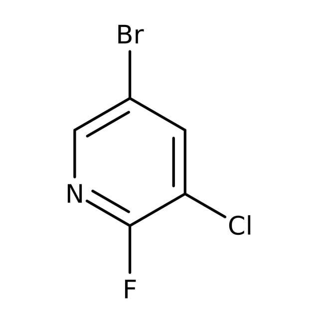 Alfa Aesar™5-Bromo-3-chloro-2-fluoropyridine, 96% 250mg Alfa Aesar™5-Bromo-3-chloro-2-fluoropyridine, 96%