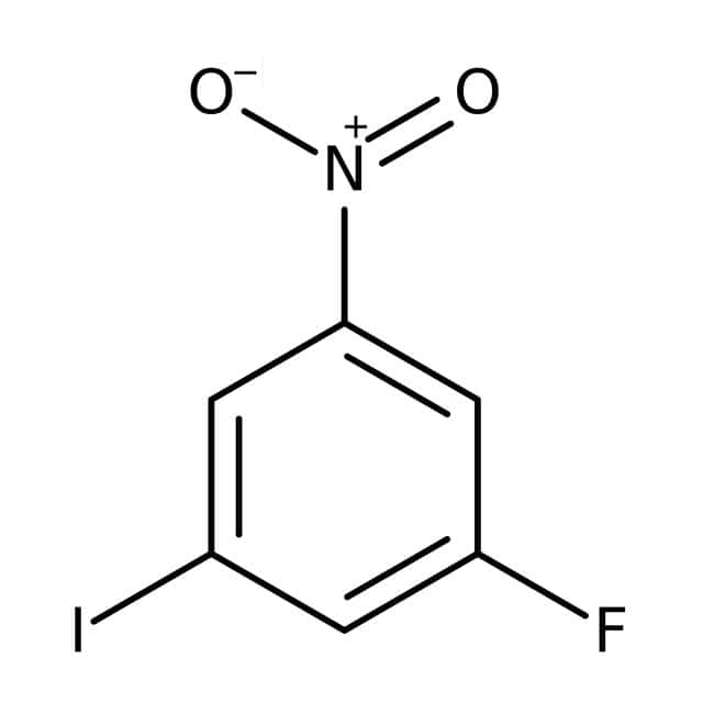 1-Fluoro-3-iodo-5-nitrobenzene, 98%, ACROS Organics