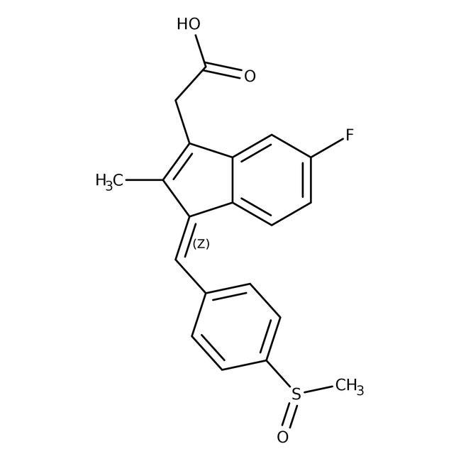 Sulindac, USP, 98-102%, Spectrum