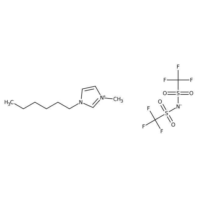 1-Hexyl-3-methylimidazolium Bis(trifluoromethanesulfonyl)imide 98.0 %, TCI America