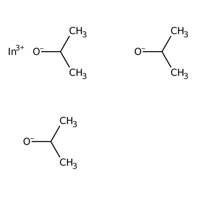 Alfa Aesar™Indium(III) isopropoxide, 99+% (metals basis), 5% w/v isopropanol