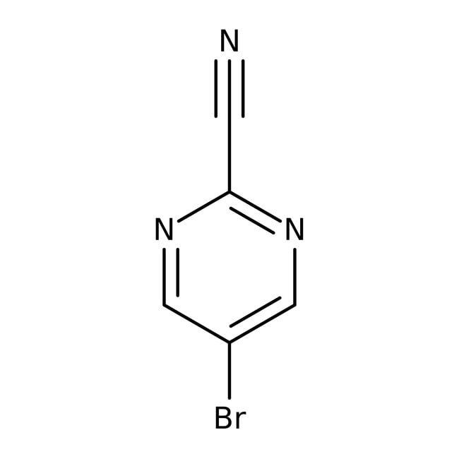 5-Bromo-2-cyanopyrimidine, 95%, Thermo Scientific™: Pyrimidines and pyrimidine derivatives Diazines