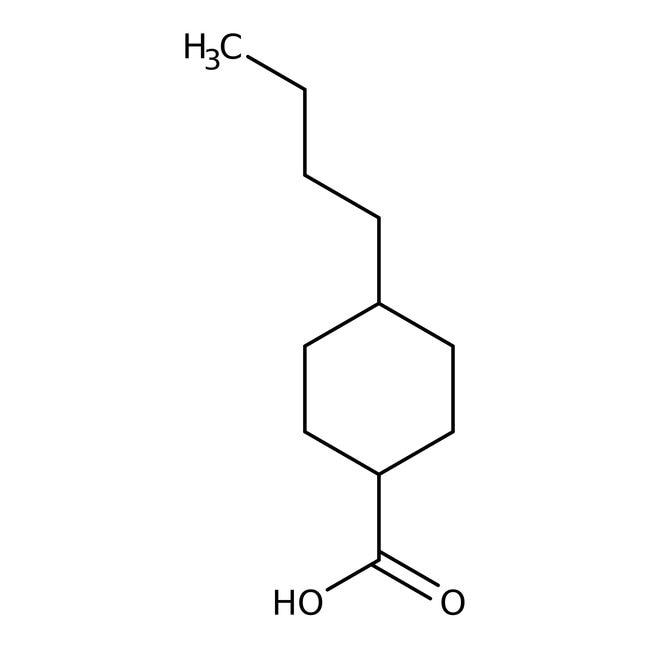 Alfa Aesar™trans-4-n-Butylcyclohexanecarboxylic acid, 99% 5g Alfa Aesar™trans-4-n-Butylcyclohexanecarboxylic acid, 99%