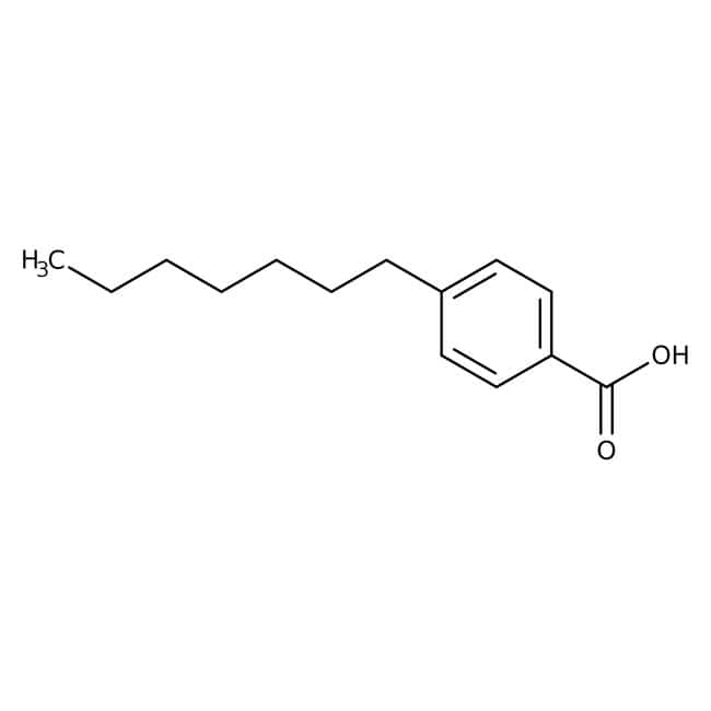 Alfa Aesar  4-n-Heptylbenzoic acid, 99+%