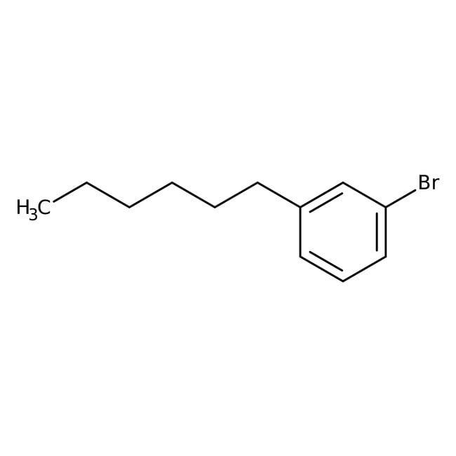 Alfa Aesar™1-Bromo-3-n-hexylbenzène 97+% 25g Alfa Aesar™1-Bromo-3-n-hexylbenzène 97+%