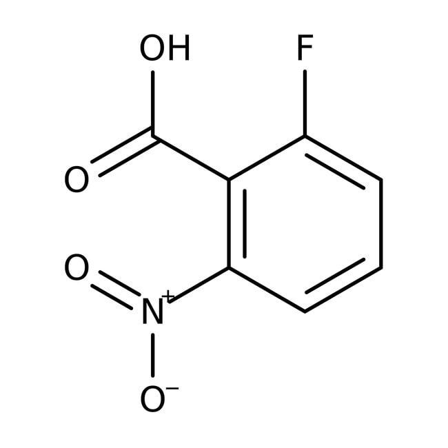 Alfa Aesar™2-Fluoro-6-nitrobenzoic acid, 98% 25g Alfa Aesar™2-Fluoro-6-nitrobenzoic acid, 98%