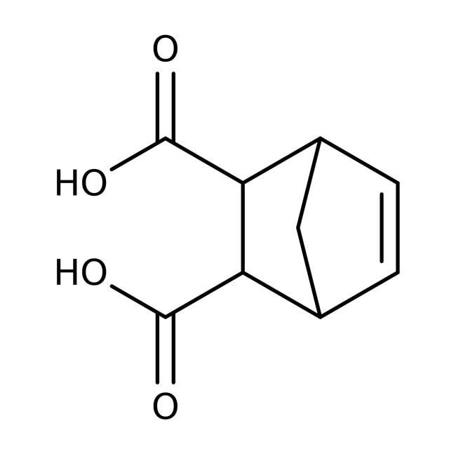 cis-5-Norbornene-endo-2,3-dicarboxylic acid, 99%, ACROS Organics