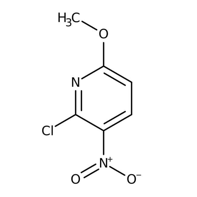 Alfa Aesar™2-Chloro-6-methoxy-3-nitropyridine, 98% 100g Alfa Aesar™2-Chloro-6-methoxy-3-nitropyridine, 98%