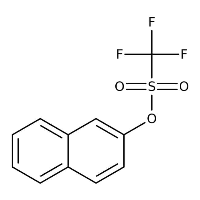 Alfa Aesar™ 2-Naphthyl trifluoromethanesulfonate, 97% 5g Alfa Aesar™ 2-Naphthyl trifluoromethanesulfonate, 97%