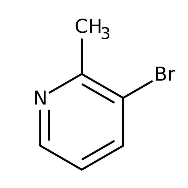 3-Bromo-2-methylpyridine, 97%, ACROS Organics™