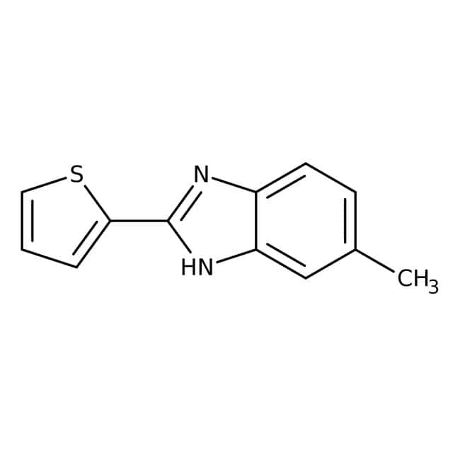 Alfa Aesar™ 5-Methyl-2-(2-thienyl)benzimidazole, 95% 250 mg Alfa Aesar™ 5-Methyl-2-(2-thienyl)benzimidazole, 95%