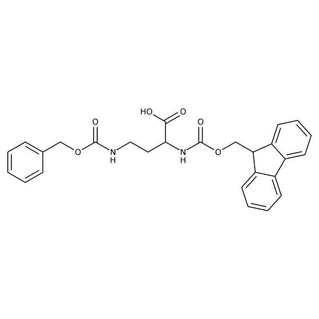 Alfa Aesar™(R)-4-Benzyloxycarbonylamino-2-(Fmoc-amino)butyric acid, 95% 5g Alfa Aesar™(R)-4-Benzyloxycarbonylamino-2-(Fmoc-amino)butyric acid, 95%