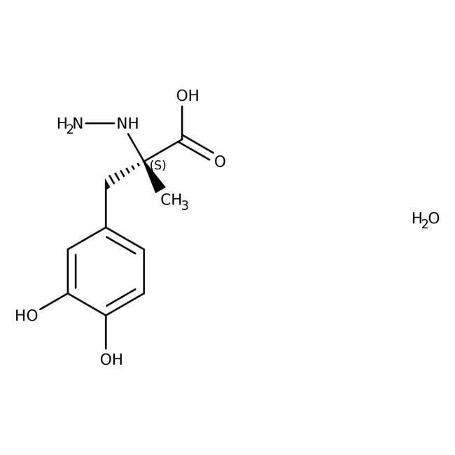 Carbidopa monohydrate, 99%, Acros Organics