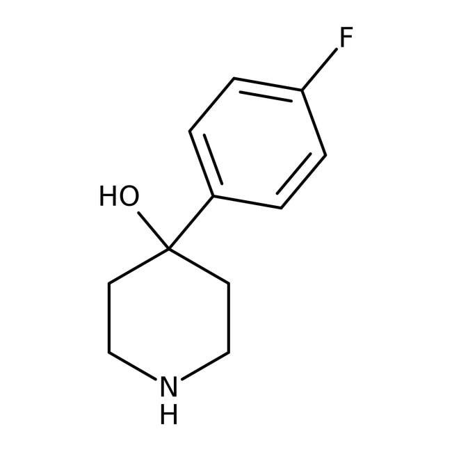 Alfa Aesar™4-(4-Fluorophenyl)-4-hydroxypiperidine, 97% 5g Alfa Aesar™4-(4-Fluorophenyl)-4-hydroxypiperidine, 97%