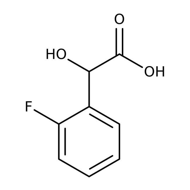 Alfa Aesar™Ácido 2-fluoromandélico, 99% 1g Alfa Aesar™Ácido 2-fluoromandélico, 99%