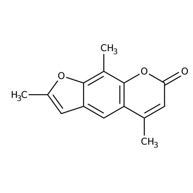 4,5',8-Trimethylpsoralen, 97.5%, ACROS Organics™