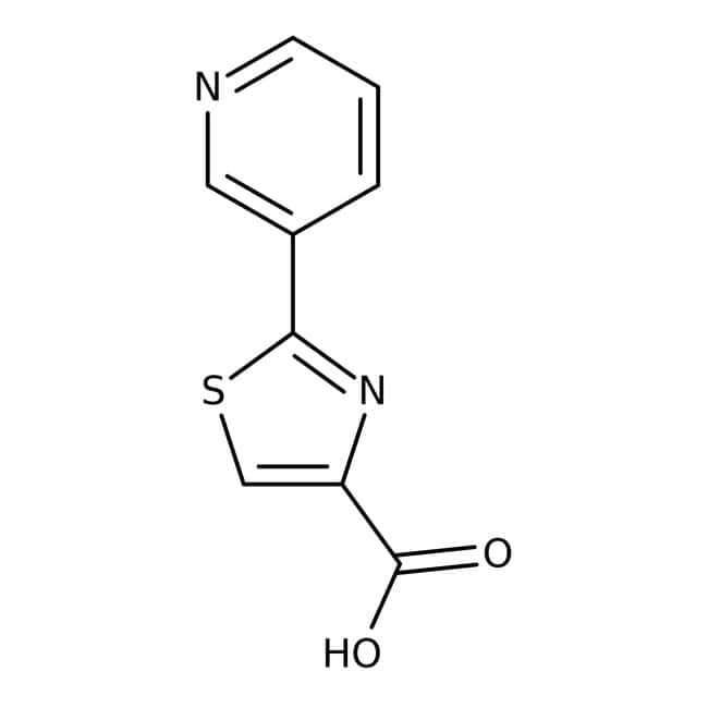 2-(3-Pyridyl)-1,3-thiazole-4-carboxylic acid, 97%, Maybridge