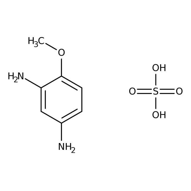 4-Methoxy-m-phenylenediamine Sulfate Hydrate 98%, ACROS Organics