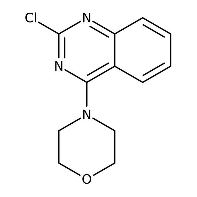 Alfa Aesar™2-Chloro-4-(4-morpholinyl)quinazoline, 97% 1g Alfa Aesar™2-Chloro-4-(4-morpholinyl)quinazoline, 97%