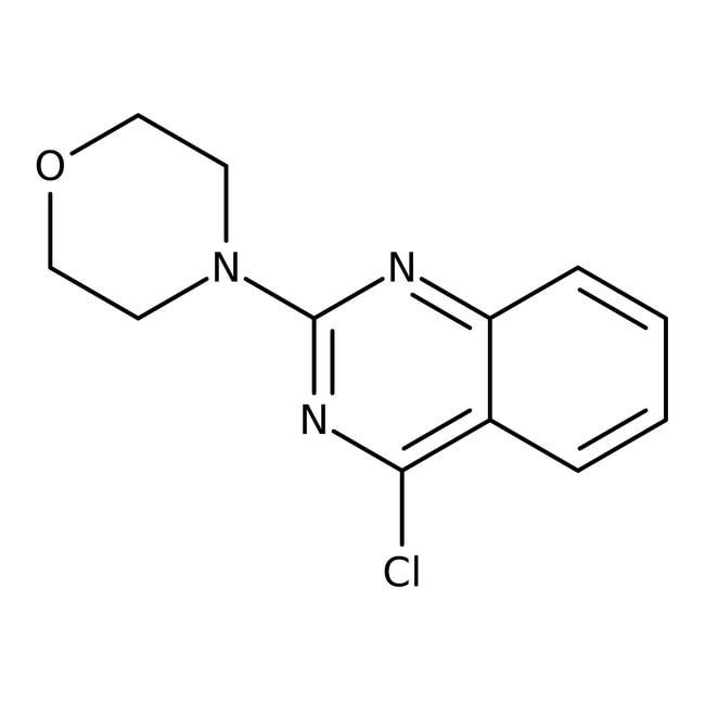 Alfa Aesar™4-Chloro-2-(4-morpholinyl)quinazoline, 97% 1g Alfa Aesar™4-Chloro-2-(4-morpholinyl)quinazoline, 97%
