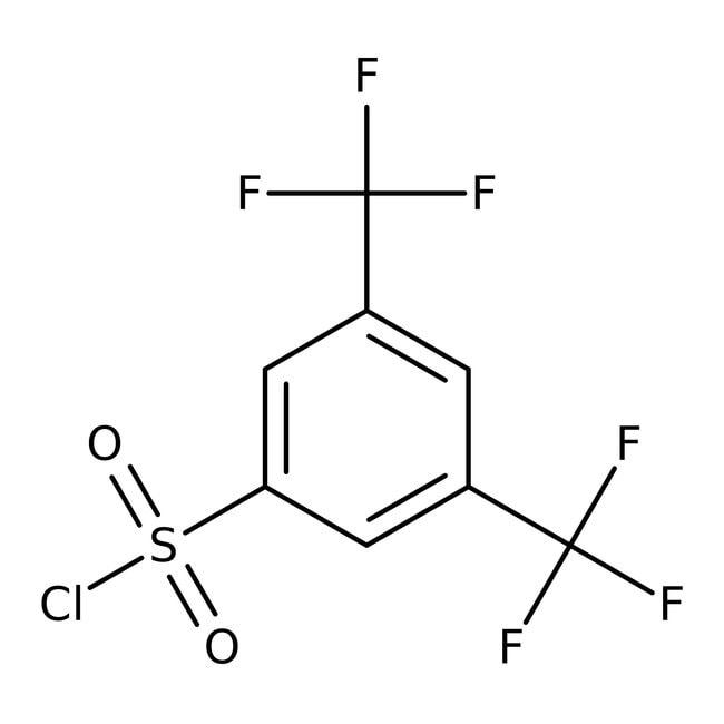 Alfa Aesar™3,5-Bis(trifluoromethyl)benzenesulfonyl chloride, 97% 5g prodotti trovati