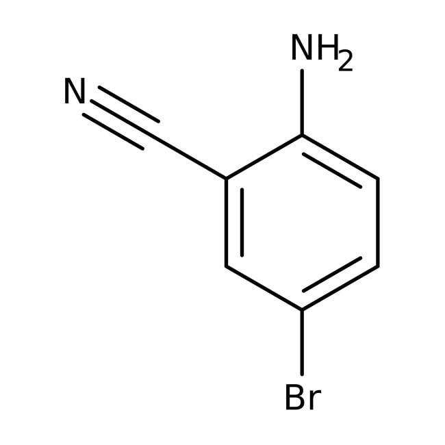 2-Amino-5-bromobenzonitrile, 97%, ACROS Organics™ 1g; Glass bottle 2-Amino-5-bromobenzonitrile, 97%, ACROS Organics™