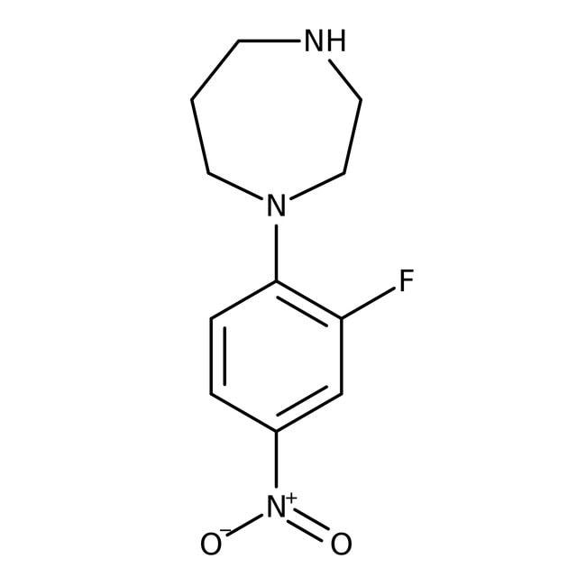 Alfa Aesar™1-(2-Fluoro-4-nitrophenyl)homopiperazine, 97% 5g Alfa Aesar™1-(2-Fluoro-4-nitrophenyl)homopiperazine, 97%