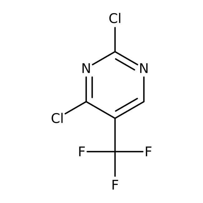 2,4-Dichloro-5-(trifluoromethyl)pyrimidine, 97%, ACROS Organics™  2,4-Dichloro-5-(trifluoromethyl)pyrimidine, 97%, ACROS Organics™