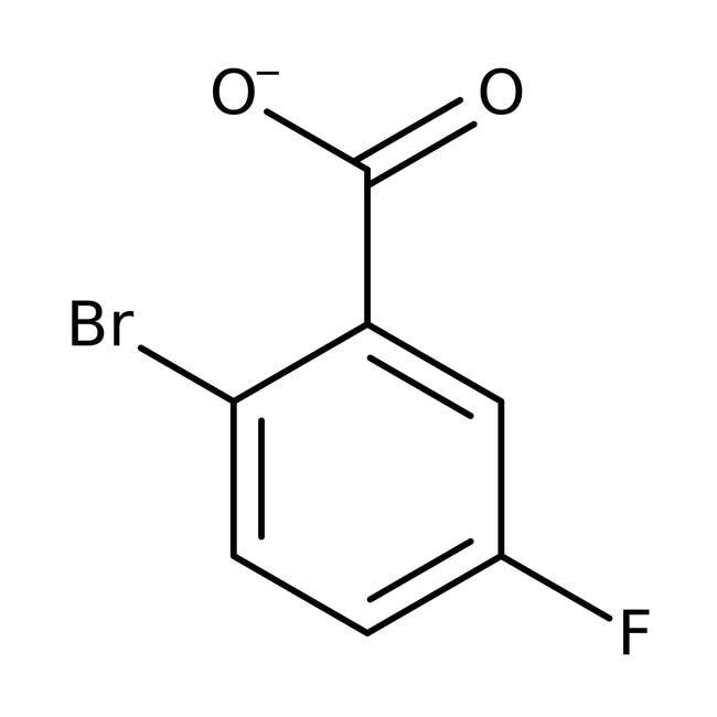 2-Bromo-5-fluorobenzoic acid, 99%, ACROS Organics™  2-Bromo-5-fluorobenzoic acid, 99%, ACROS Organics™