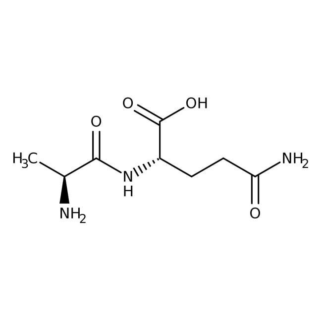 Alfa Aesar™L-Alanyl-L-glutamine, 99% 100g Alfa Aesar™L-Alanyl-L-glutamine, 99%