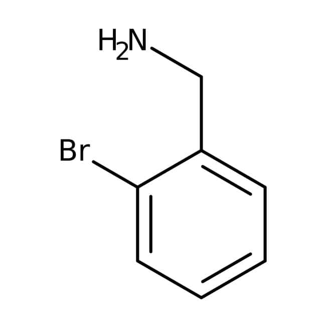 2-Bromobenzylamine, 98%, ACROS Organics™: Benzene and substituted derivatives Benzenoids